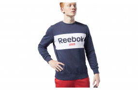 REEBOK TRAINING ESSENTIALS BIG LOGO CREW