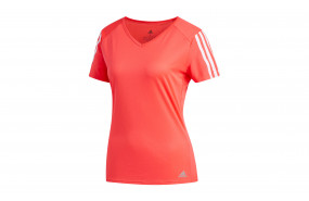 adidas RUN 3 STRIPES TEE WOMEN