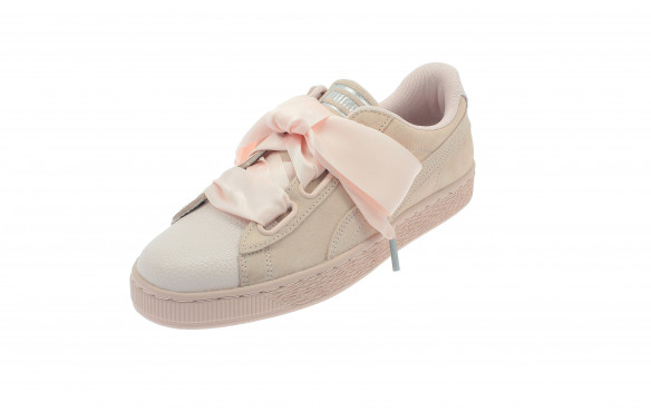 PUMA SUEDE HEART BUBBLE MUJER