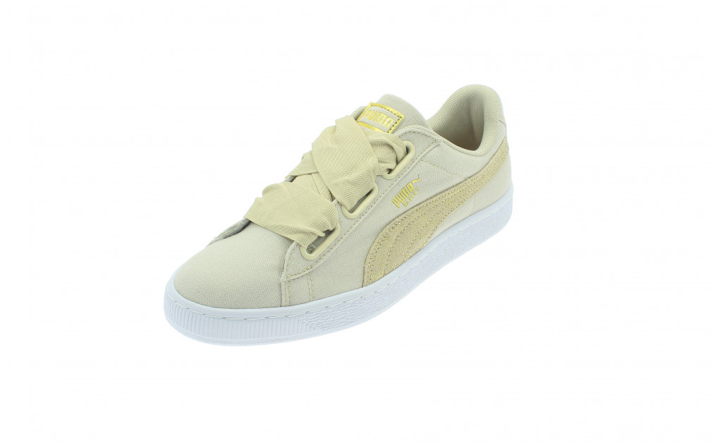 PUMA BASKET HEART CANVAS MUJER IMAGE 1