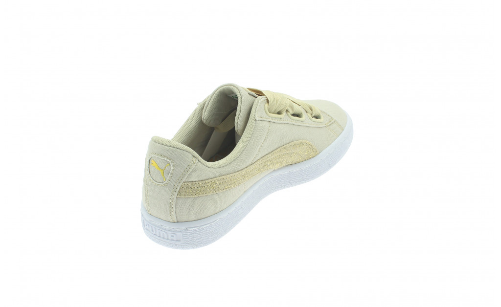 PUMA BASKET HEART CANVAS MUJER IMAGE 3
