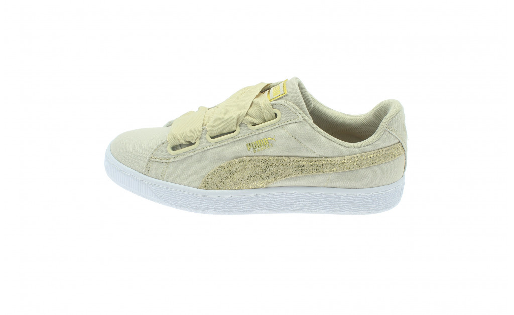 PUMA BASKET HEART CANVAS MUJER IMAGE 7