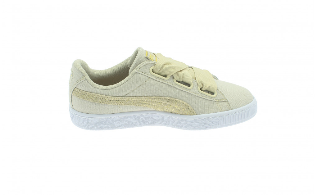PUMA BASKET HEART CANVAS MUJER IMAGE 8