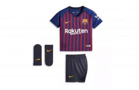 NIKE FC BARCELONA KIT HOME BEBÉ 18/19