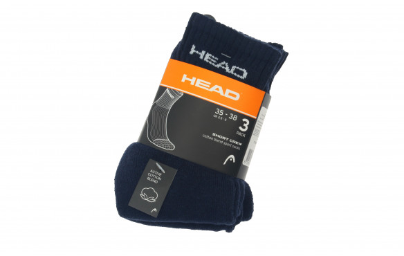 HEAD UNISEX SHORT CREW PACK 3
